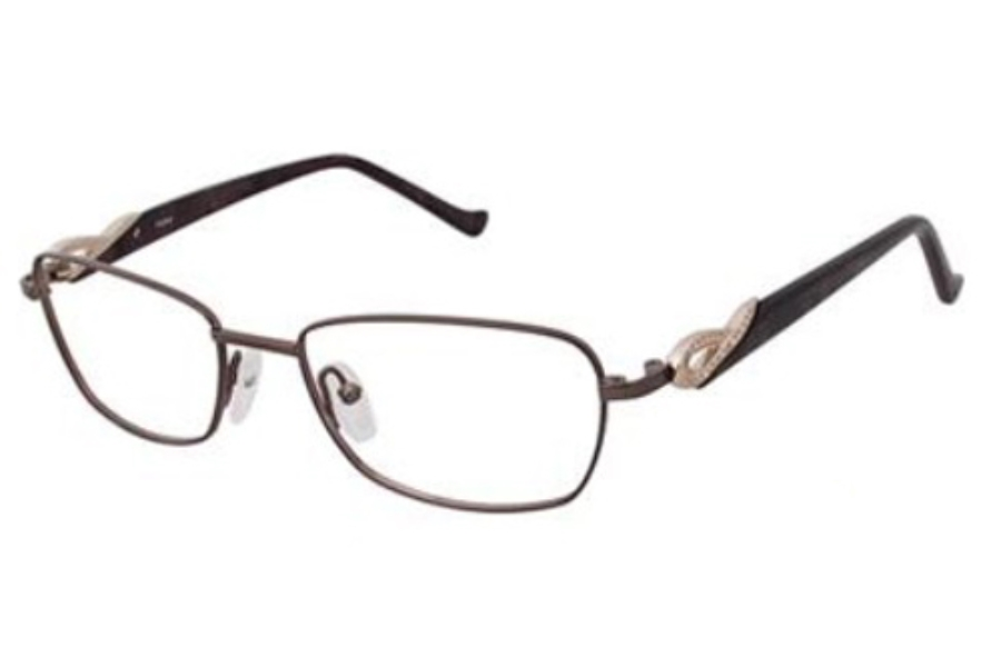 Tura R316 Eyeglasses in Brown (Brn)