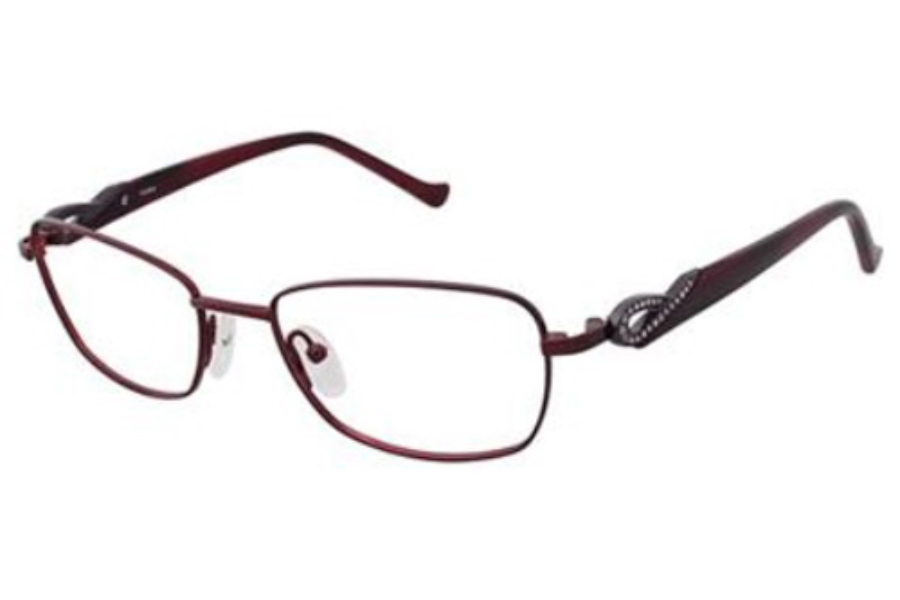 Tura R316 Eyeglasses in Burgundy (Bur)