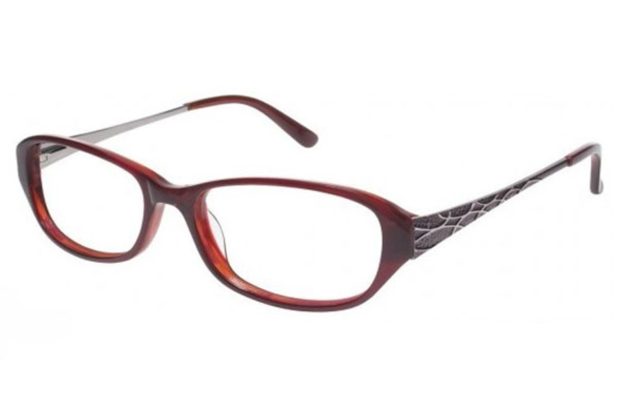 Tura R401 Eyeglasses in BURGUNDY (BUR)