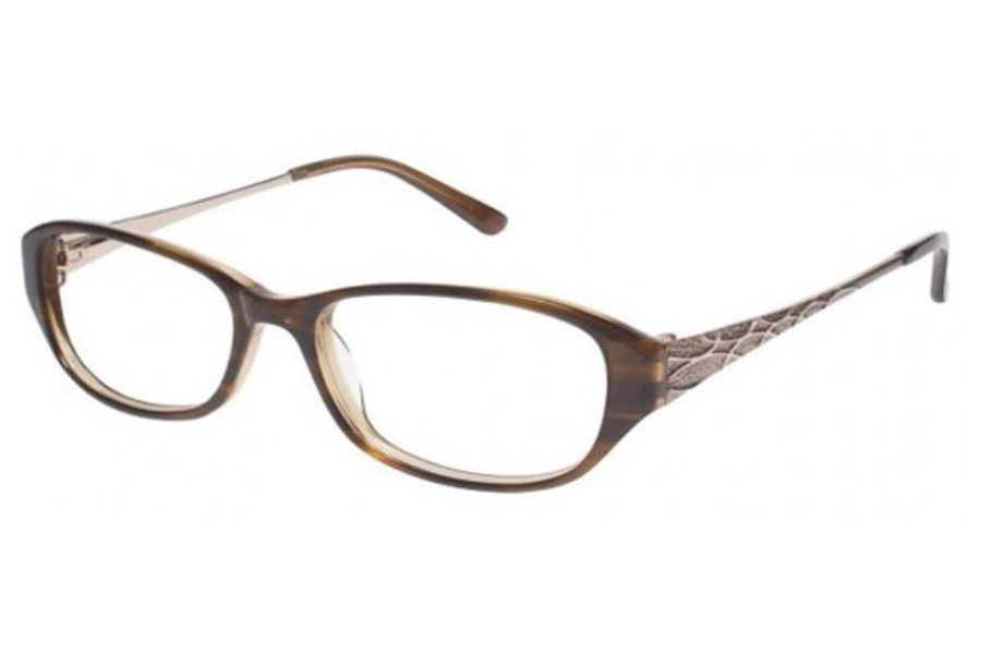 Tura R401 Eyeglasses in TORTOISE W/BROWN (TOR)