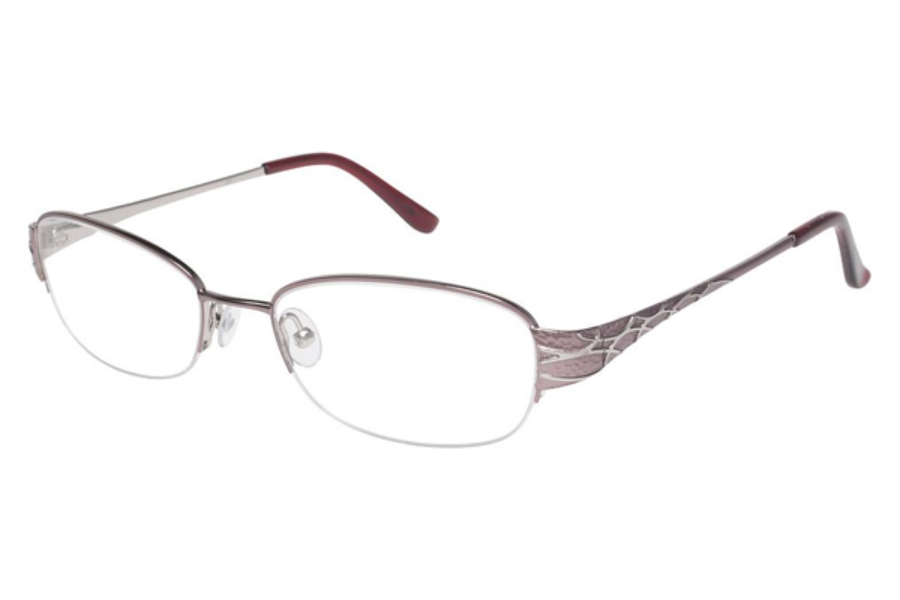 Tura R402 Eyeglasses in ROSE (ROS)