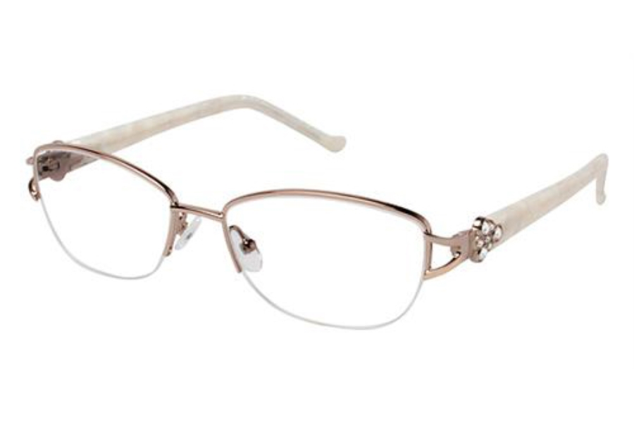 Tura R524 Eyeglasses in GLD Gold (Discontinued)