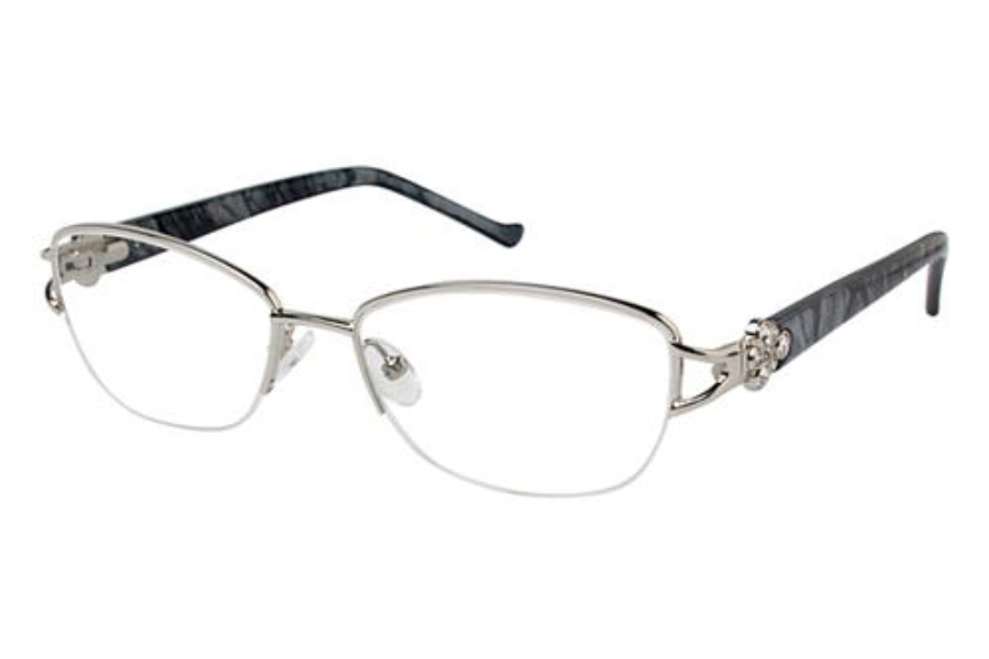 Tura R524 Eyeglasses in SIL Silver