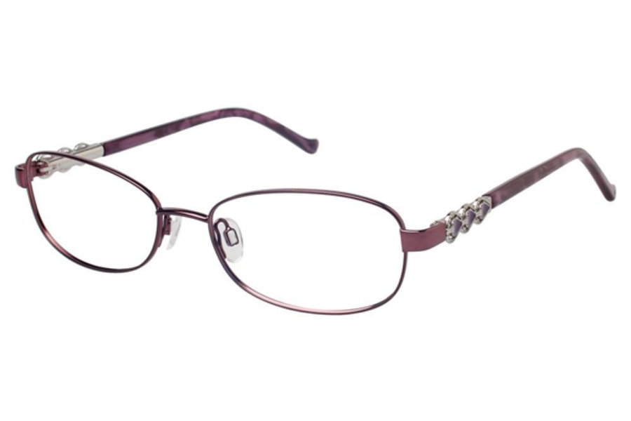 Tura R528 Eyeglasses in BUR Burgandy