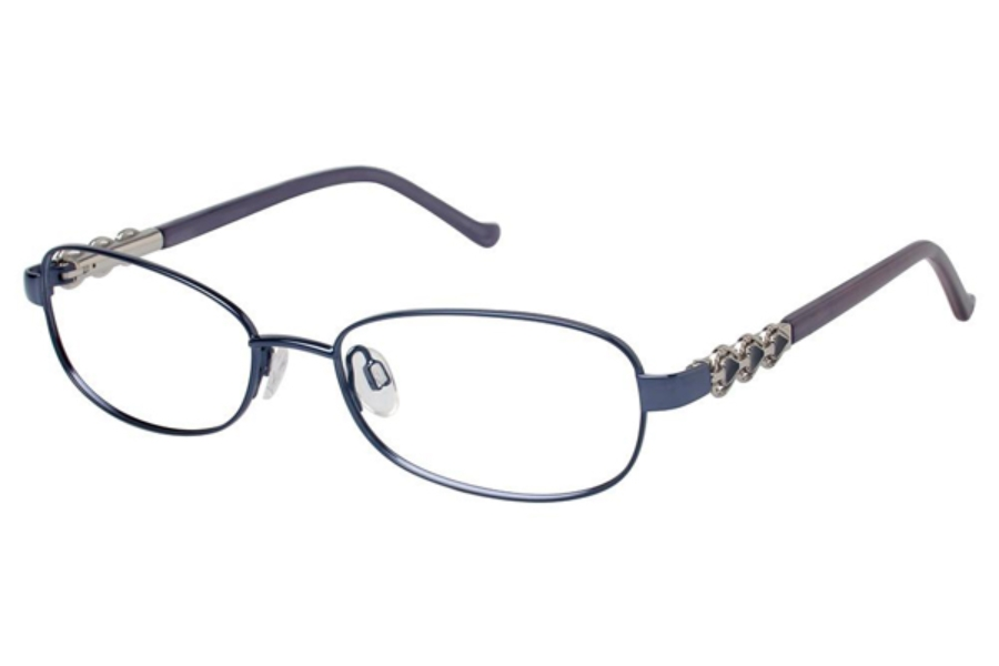 Tura R528 Eyeglasses in NAV Navy