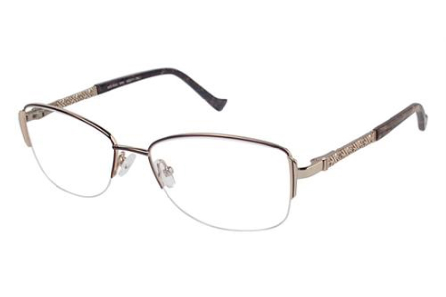 Tura R529 Eyeglasses in BRN Brown