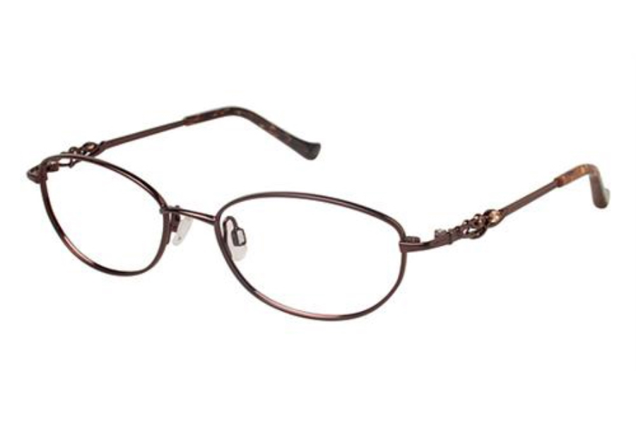 Tura R530 Eyeglasses in BRN Brown