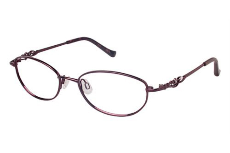 Tura R530 Eyeglasses in BUR Burgundy