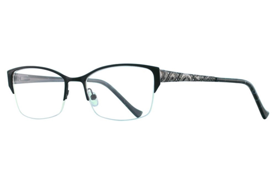 Tura R537 Eyeglasses in BLK Black