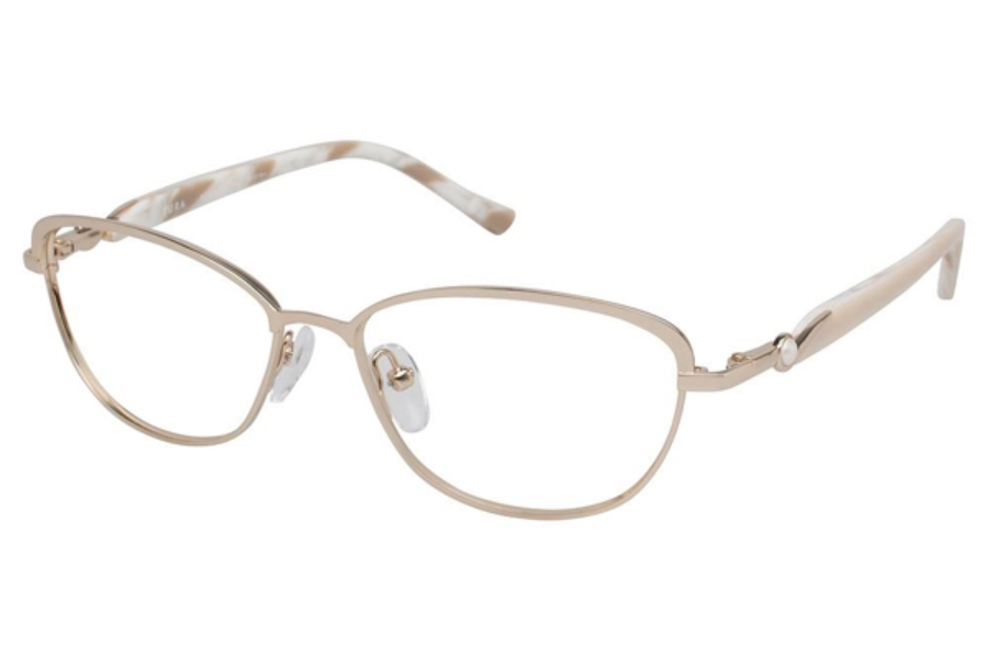 Tura R538 Eyeglasses in GLD Gold