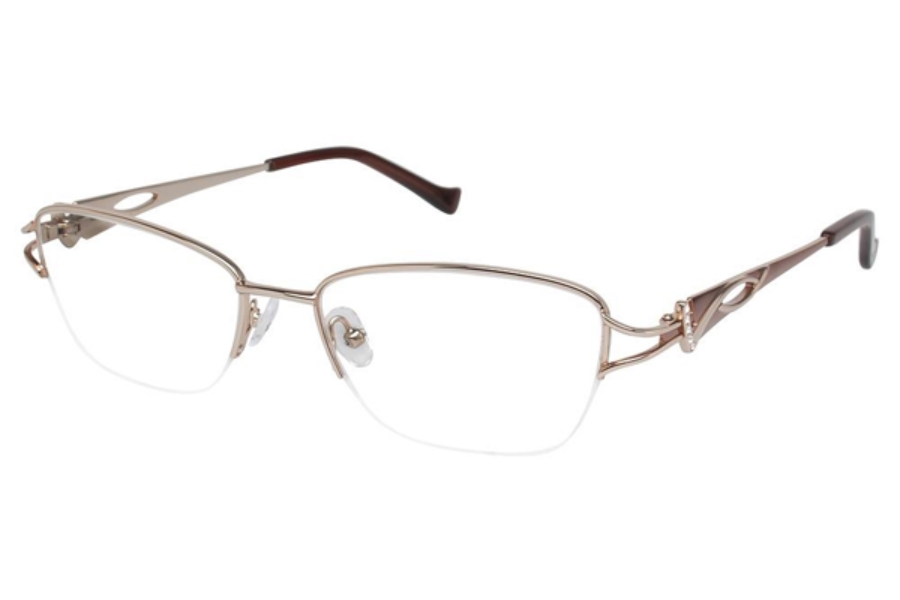 Tura R539 Eyeglasses in GLD Gold