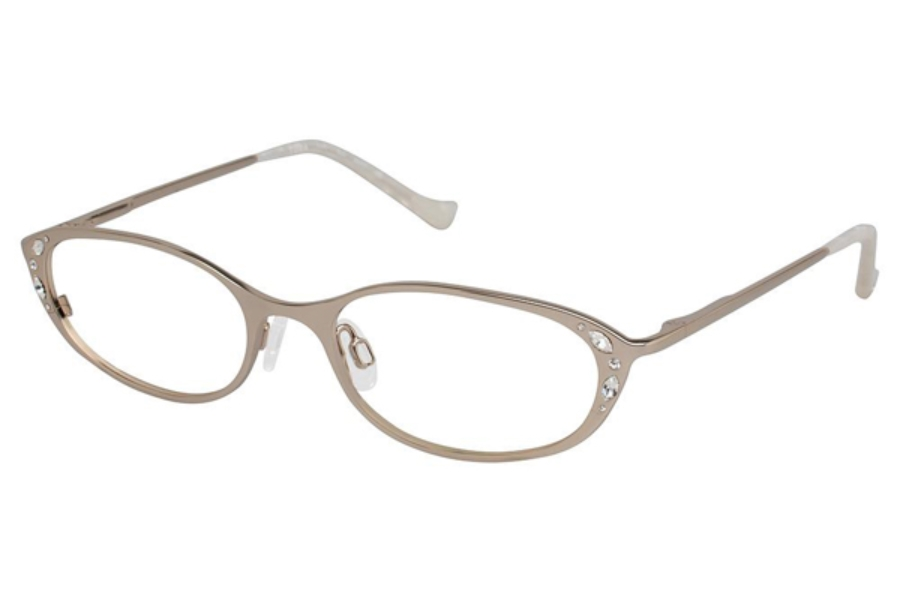 Tura R541 Eyeglasses in GLD Gold
