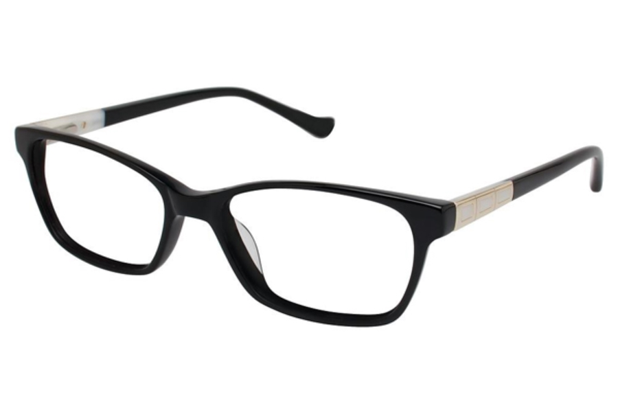 Tura R542 Eyeglasses in BLK Black