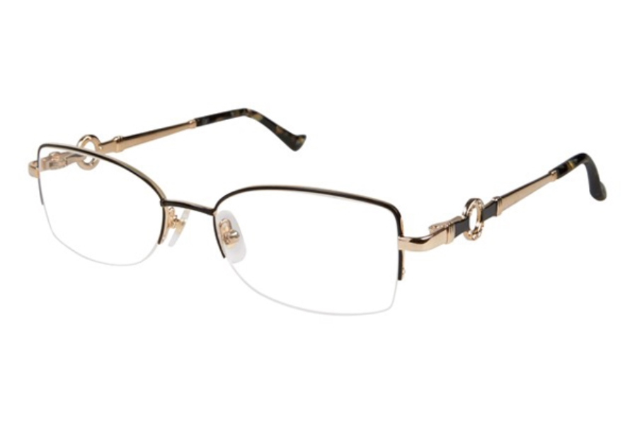 Tura R548 Eyeglasses in BLK Black