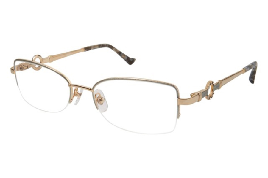 Tura R548 Eyeglasses in SIL Silver/Gold