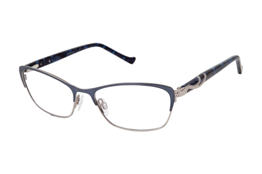 Tura R555 Eyeglasses in NAV Navy