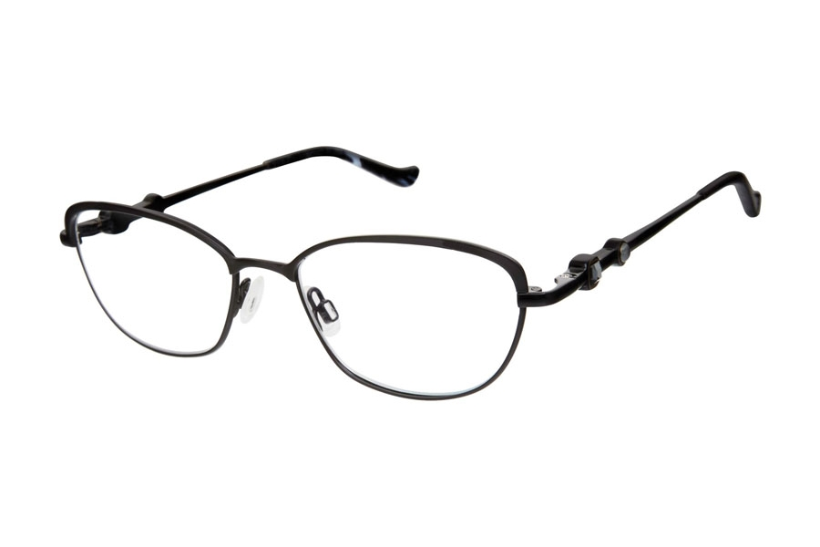 Tura R558 Eyeglasses in BLK Black