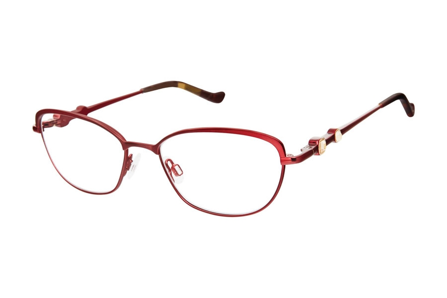 Tura R558 Eyeglasses in BUR Burgundy