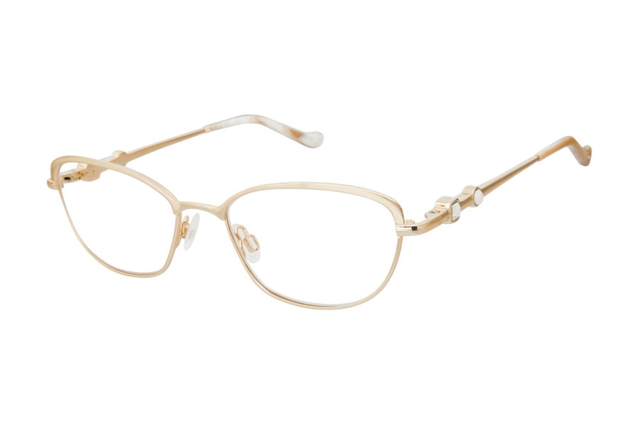 Tura R558 Eyeglasses in GLD Gold