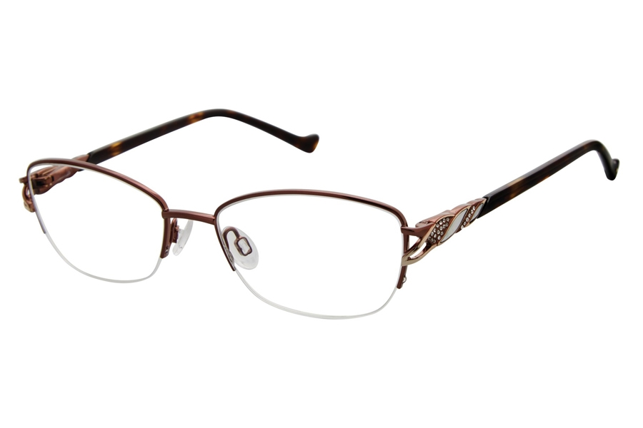 Tura R564 Eyeglasses in BRN Brown