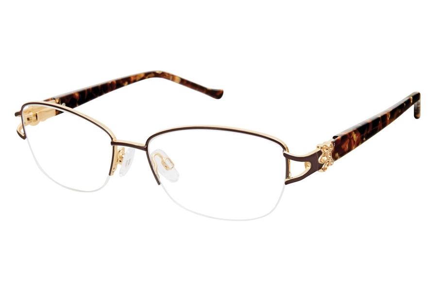 Tura R565 Eyeglasses in BRN Brown