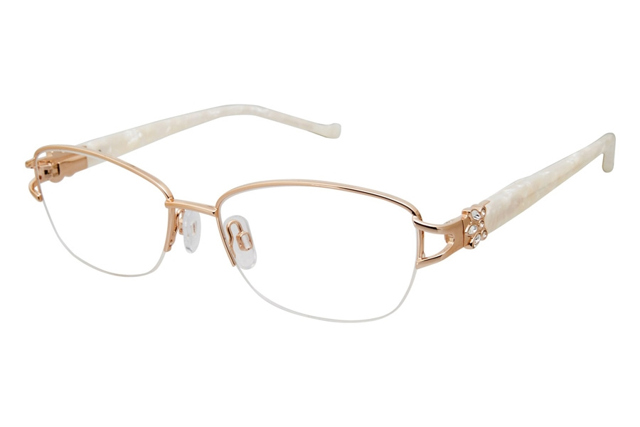 Tura R565 Eyeglasses in GLD Gold