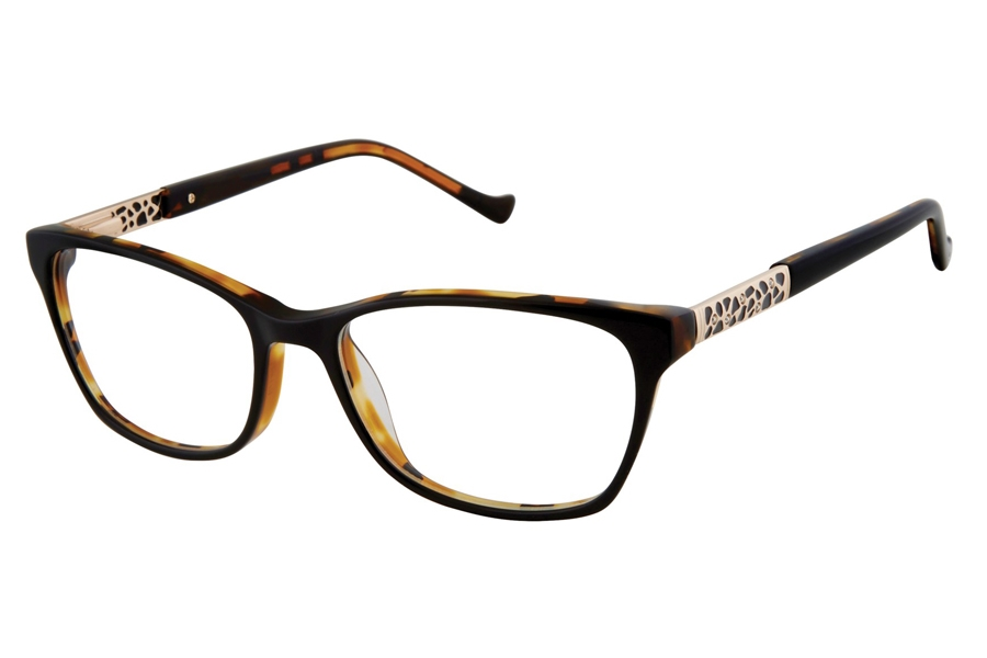 Tura R568 Eyeglasses in BLK Black