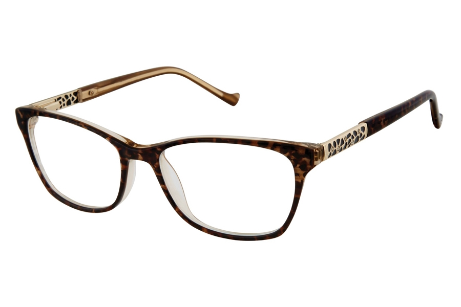 Tura R568 Eyeglasses in BRN Brown