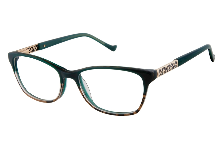 Tura R568 Eyeglasses in GRN Green
