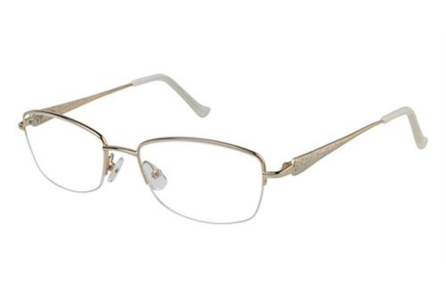 Tura R906 Eyeglasses in GLD Gold