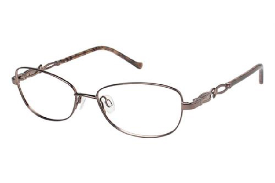 Tura R909 Eyeglasses in BRN Brown