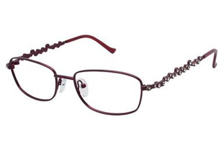 Tura TE230 Eyeglasses in BUR Burgundy