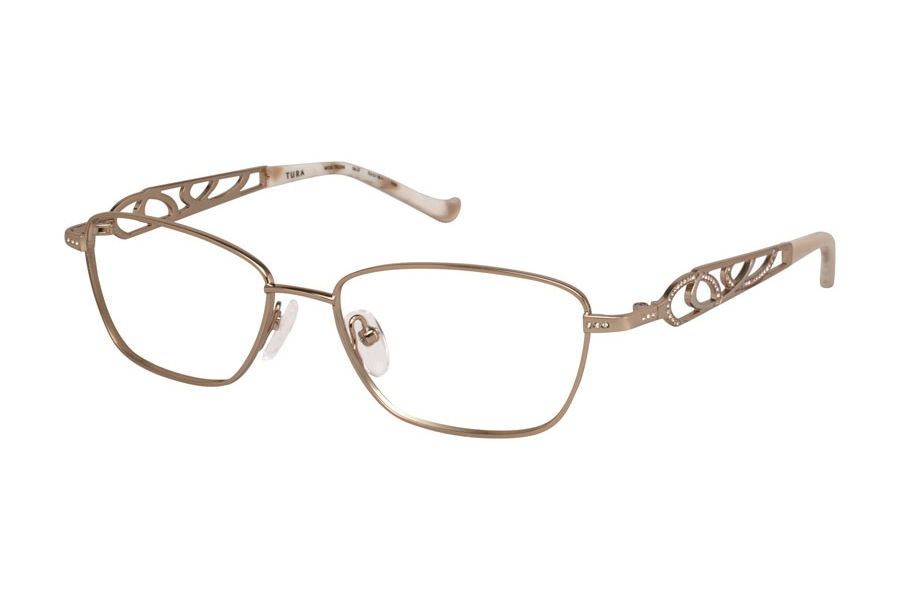Tura TE239 Eyeglasses in GLD Gold