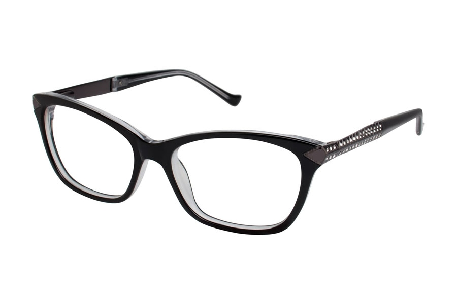 Tura TE241 Eyeglasses in BLK Black