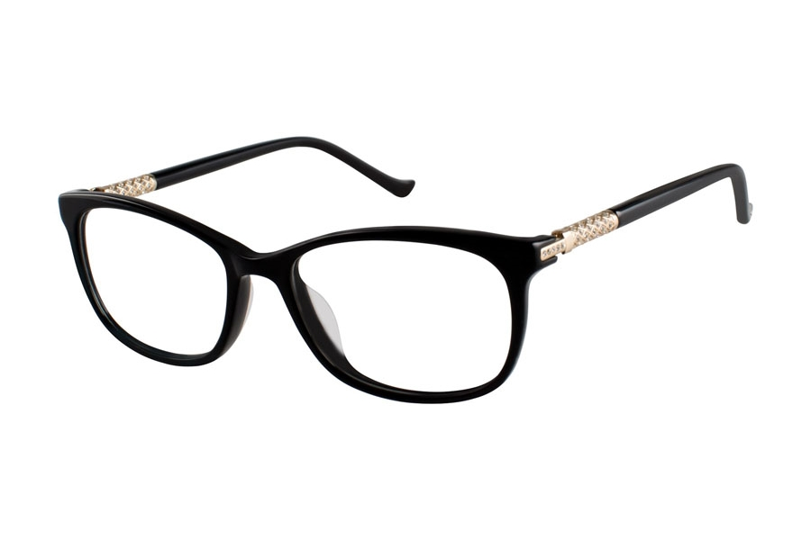 Tura TE251 Eyeglasses in BLK Black