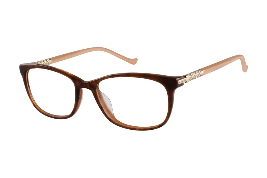 Tura TE251 Eyeglasses in BRN Brown