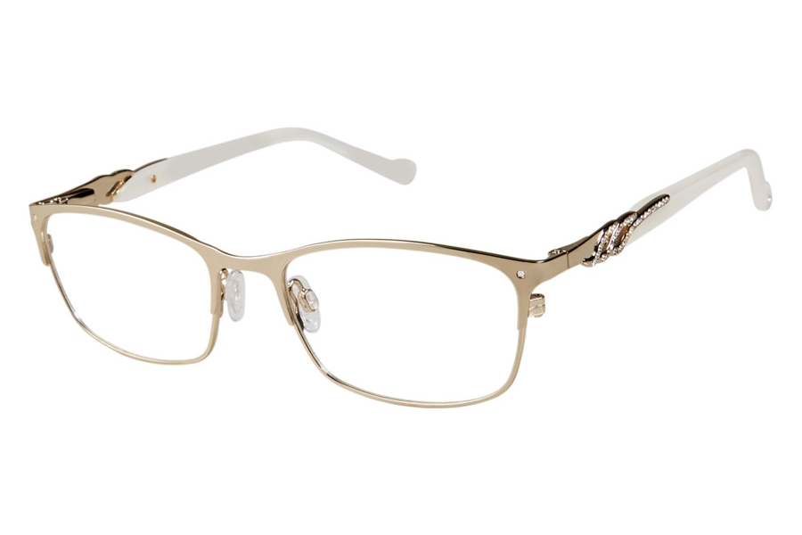 Tura TE256 Eyeglasses in GLD Gold