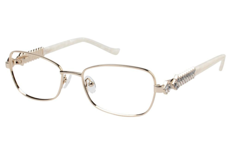 Tura X236 Eyeglasses in GLD Gold