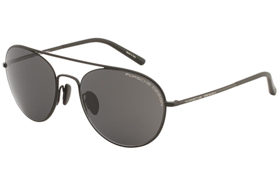 a840a3d536f ... Porsche Design P 8606 Sunglasses in C Black Gray Blue ...