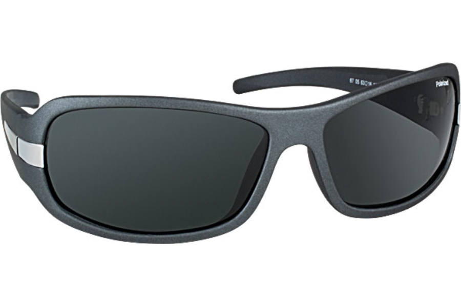 Tuscany Polarized Tuscany SG-87 Sunglasses in 05 Gunmetal w/Polarized Grey Lenses