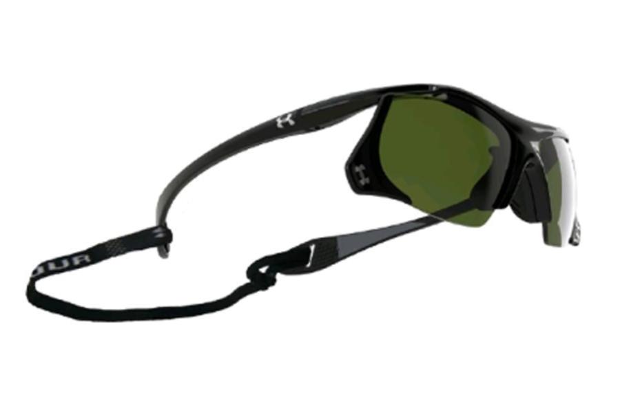 a7ca30c067 Under Armour UA Thief Sunglasses in UA8600001-5130 Shiny Black Game Day ...