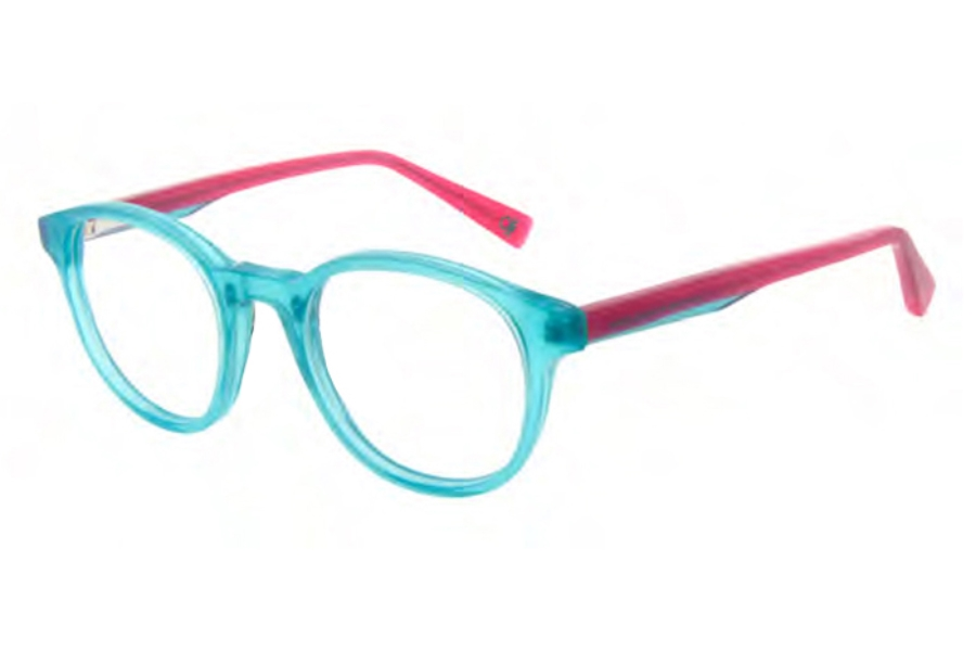 United Colors of Benetton Kids BEKO 2006 Eyeglasses in 688 Teal