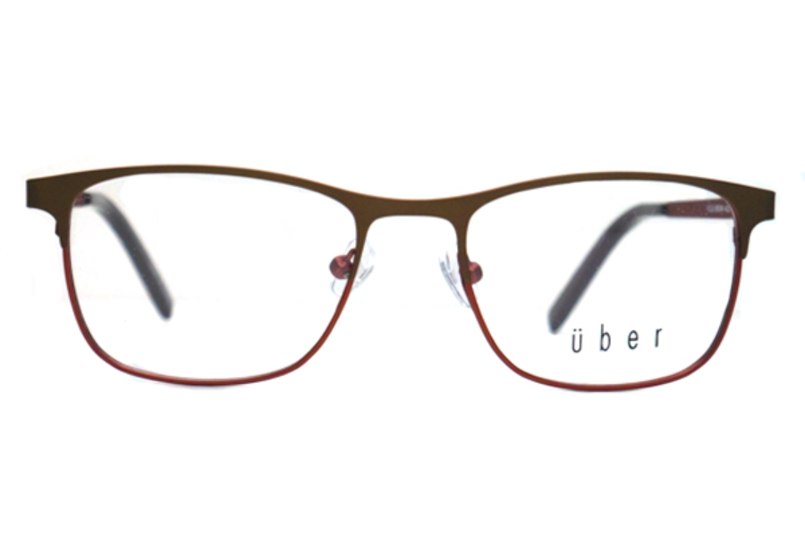 Uber Focus Eyeglasses in Brown
