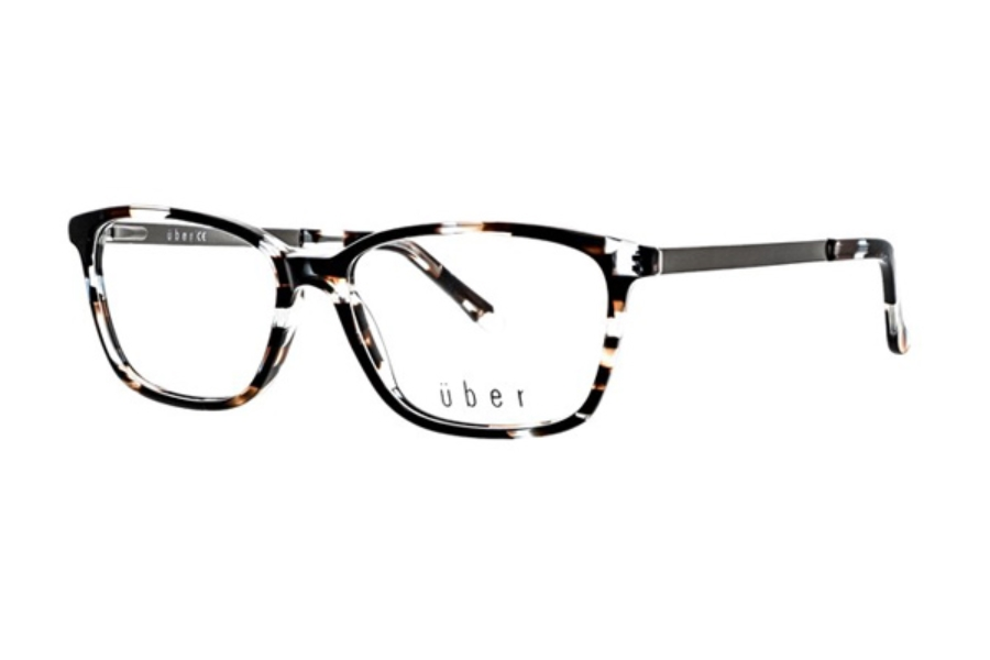 Uber Kia Eyeglasses in Brown