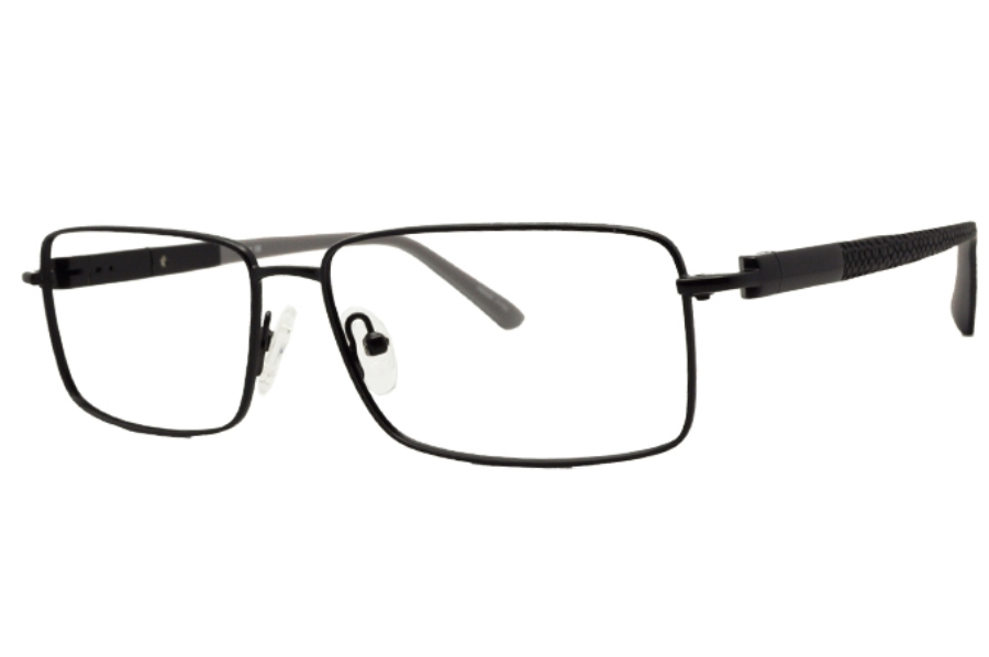 Uber Steel Eyeglasses in Black