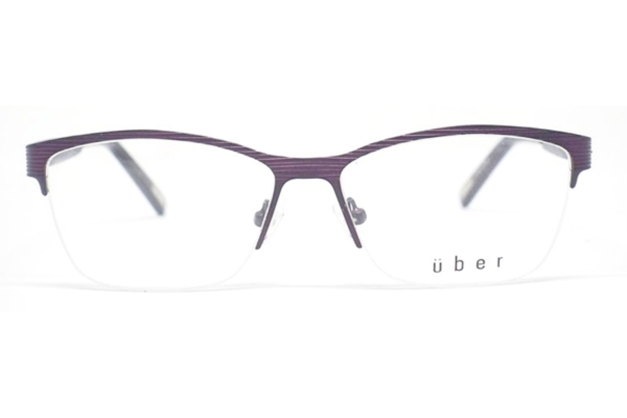Uber Yukon Eyeglasses in Plum