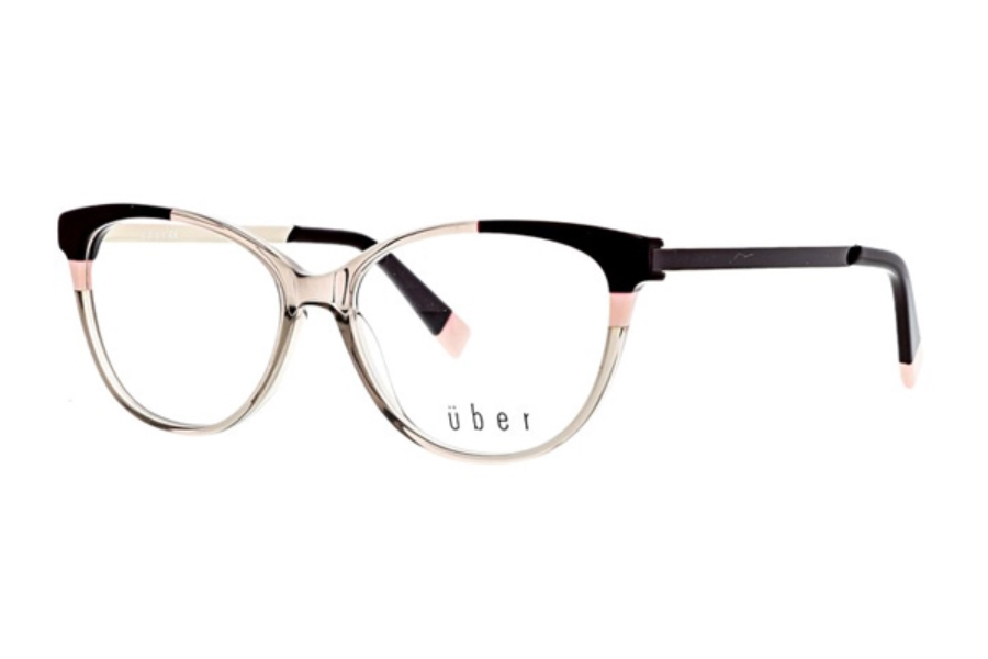 Uber Zimmer Eyeglasses in Grey Brown