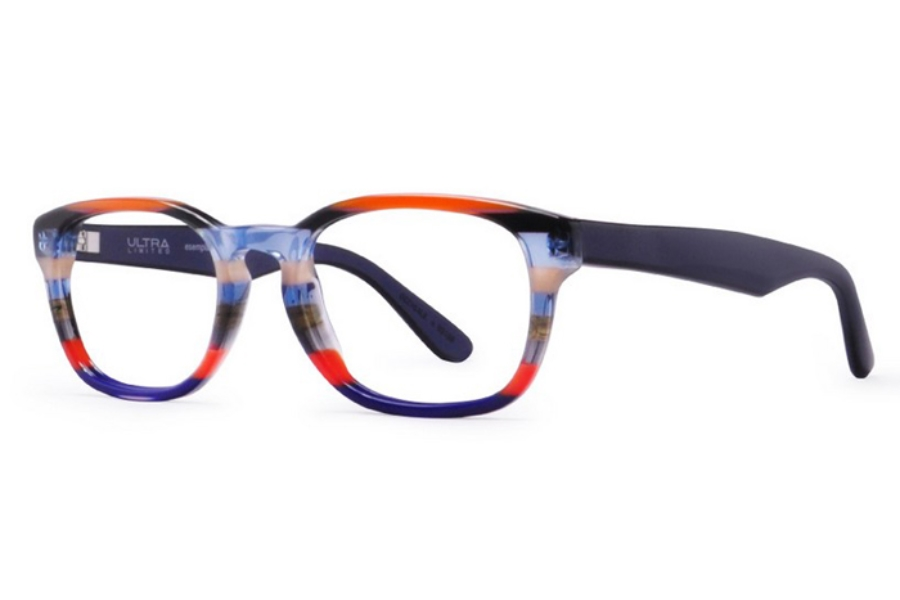 Ultra Limited Lecce Eyeglasses in Orange Purple