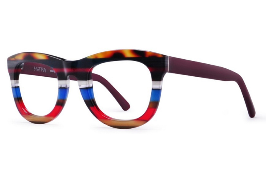 Ultra Limited Lipari Eyeglasses in Blue Red/Purple