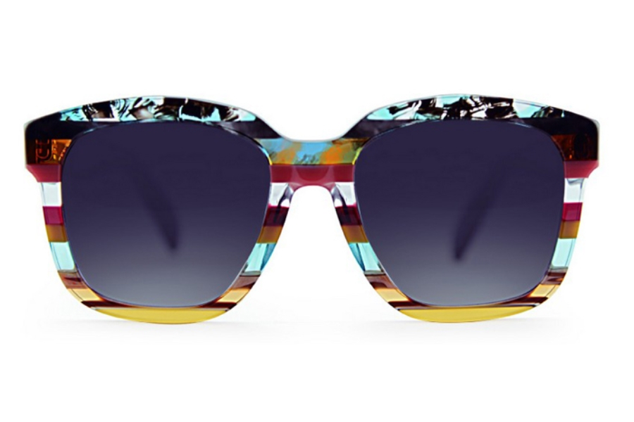 Ultra Limited Malva Sunglasses in Blue Pink/Purple